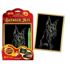Scratch Art. Dog angielski
