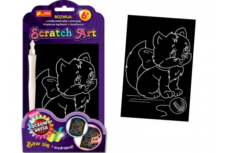 Scratch Art. Kiciuś